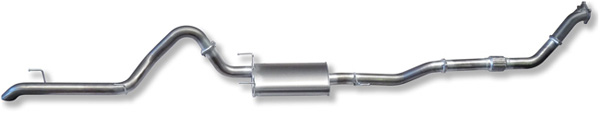 Set-100-4 Exhaust system