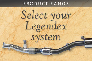 Select your Legendex system
